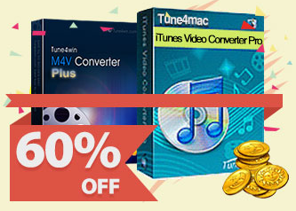 Tune4Mac iTunes Video Converter Platinum | 60% OFF (Mac