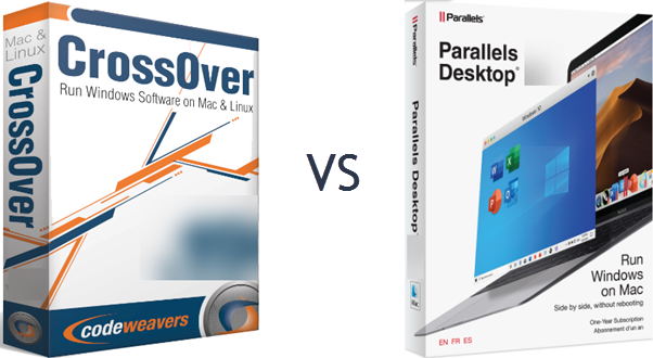 Crossover Mac vs Parallels