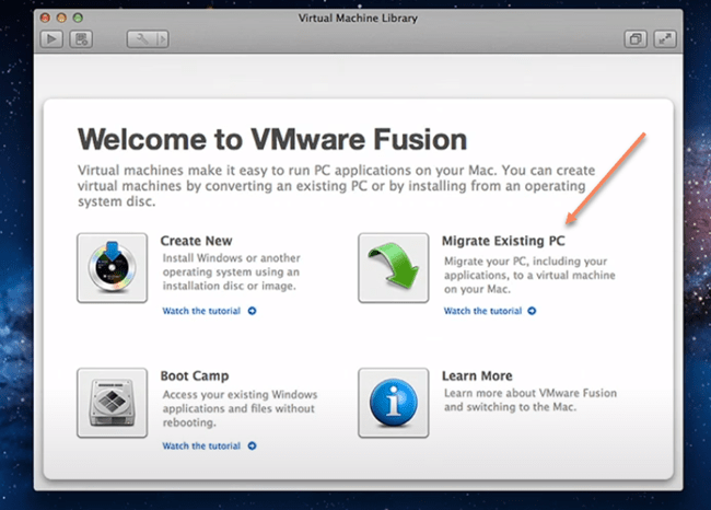 Migrate Existing PC to Mac